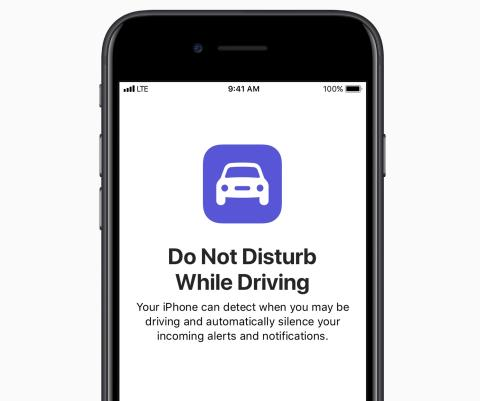 Be Phone Smart campaign welcomes new Do Not Disturb While Driving feature for iOS