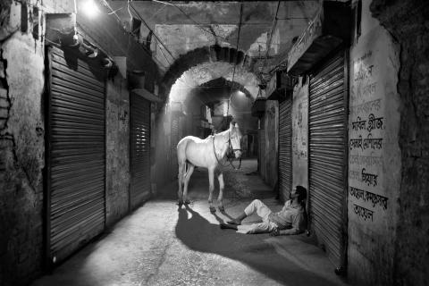 Still from/Stillbild från: Kheyal, 2015-2018, Munem Wasif