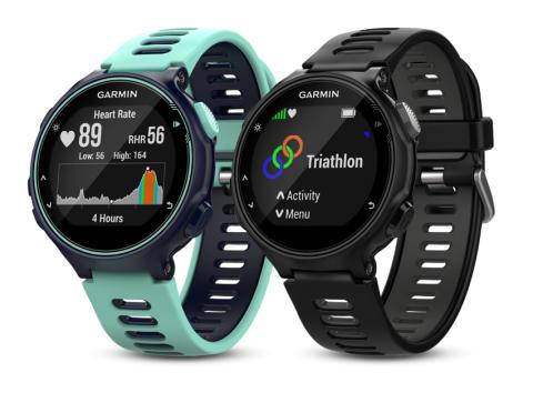 Garmin Forerunner® 735XT – avansert GPS-multisportsklokke med Garmin Elevate™-pulsmålingsteknologi på håndleddet