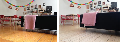 Wood Floor Makeover - Ny känsla i rummet