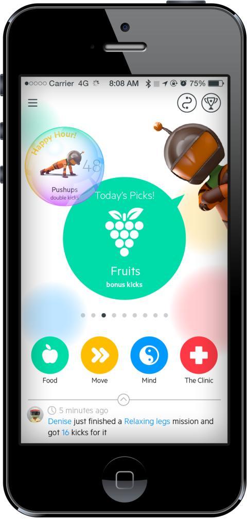 Modern beteendeforskning i mobilen motverkar livsstilssjukdomar