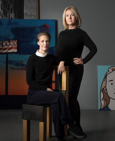 Karin Aringer och Lena Nytén