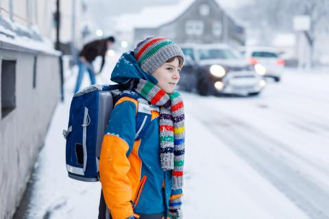 Schulweg: Auch im Winter sicher unterwegs