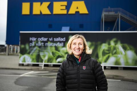 Catarina Englund, innovationsansvarig inom hållbarhet, Ingka-koncernen