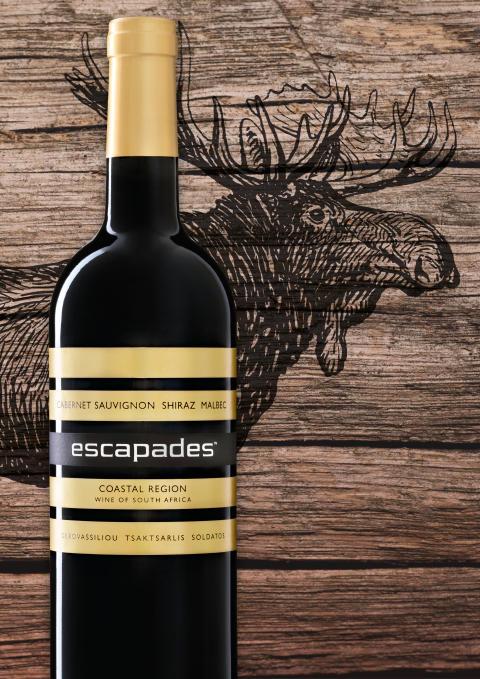 Fantastiskt vin till viltkött! Sydafrikanska Escapades Cab Sauv Shiraz Malbec för 89 kr