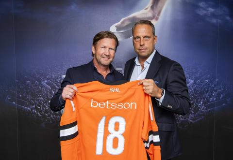 Betsson ny huvudsponsor till SHL