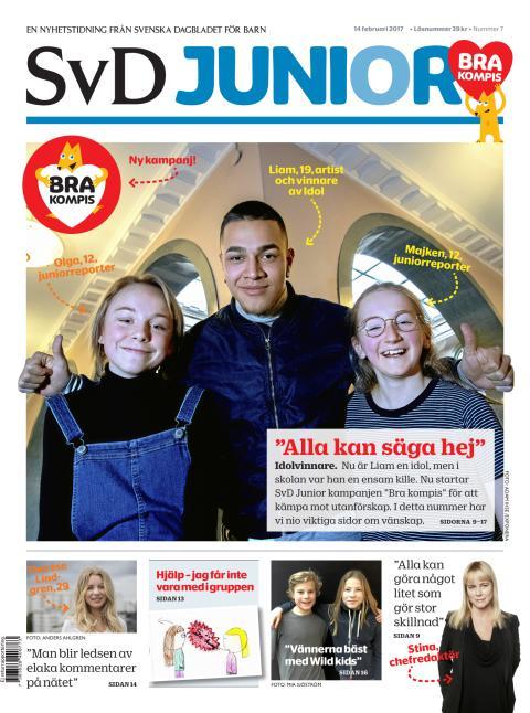 SvD Junior - Omslag - 20170214