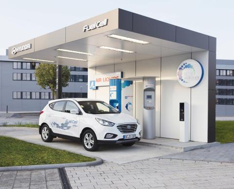 Hyundais nye hydrogenstasjon