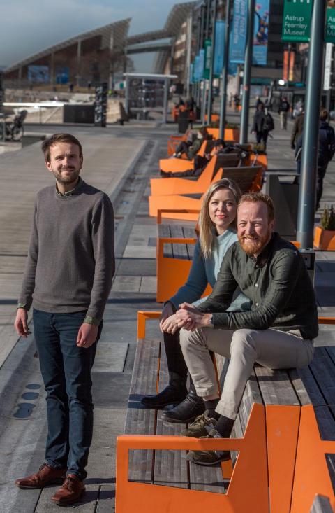 Norwegian Presence 2018: Jan Christian Vestre, Ida Aandal Røijen, Christian Lodgaard