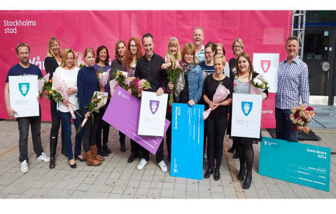Årets lärare och lärarlag 2014 i Stockholms stad korade