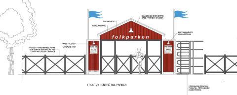 Planerad folkpark på Djurönäset