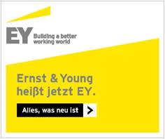Mark Weinberger neuer Global CEO von Ernst & Young – neuer Marktauftritt: aus Ernst & Young wird EY