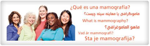 Mammografi-information på andra språk än svenska ska hjälpa invandrarkvinnor att upptäcka bröstcancer