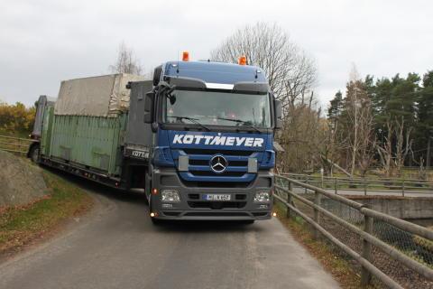 Transport av elefant till Ungern 4