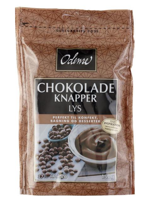 ODENSE Chokoladeknapper Mælk