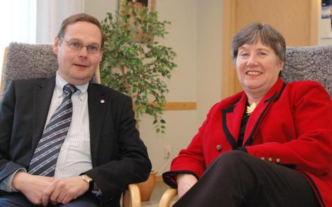 Kanada vill knyta tätare band med LTU