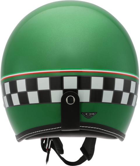 AGV RP60 mc-hjälm, Cafe Racer Green, bakifrån