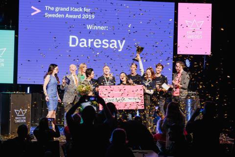 Vinnarna av Hack for Sweden 2019