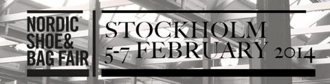 Välkommen till vårt showroom i Stockholm Skohus under Nordic Shoe & Bag Fair-dagarna!