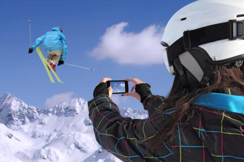 Håll telefonen vid liv i kylan