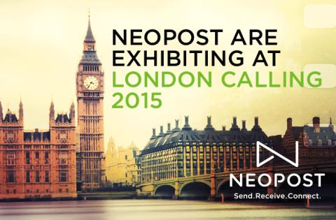 Neopost to showcase communication innovation at London Calling 2015