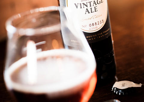 Äntligen! Lansering av Fuller's Vintage Ale 2016