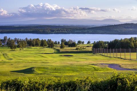 Golfbana vid Quality Hotel & Resort Frösö Park