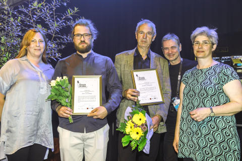 Saskia Lagerbielke, Eric Holmberg, Björn Lehnberg, Christer Björkman, Erika Lagerbielke. Foto: Robert Eklund