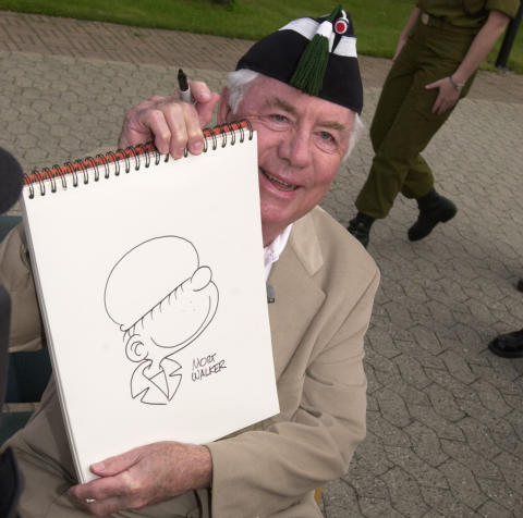 Billy-skaperen Mort Walker er død