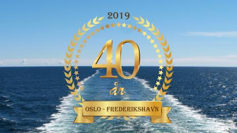 """""""Danskebåten""""  40 år Jubileumslunsj 28/5"""