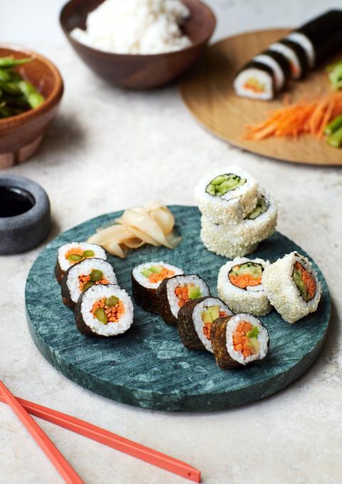 gröna proteiner_sushi