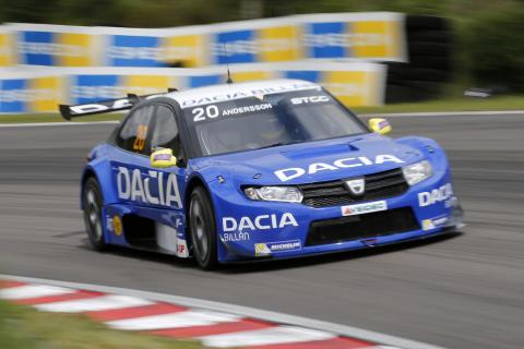 Andersson siktar mot STCC-pallen igen med Dacia Dealer Team