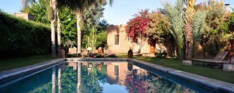 8 Tage Yoga Retreat Grünes Marrakesch September 2017