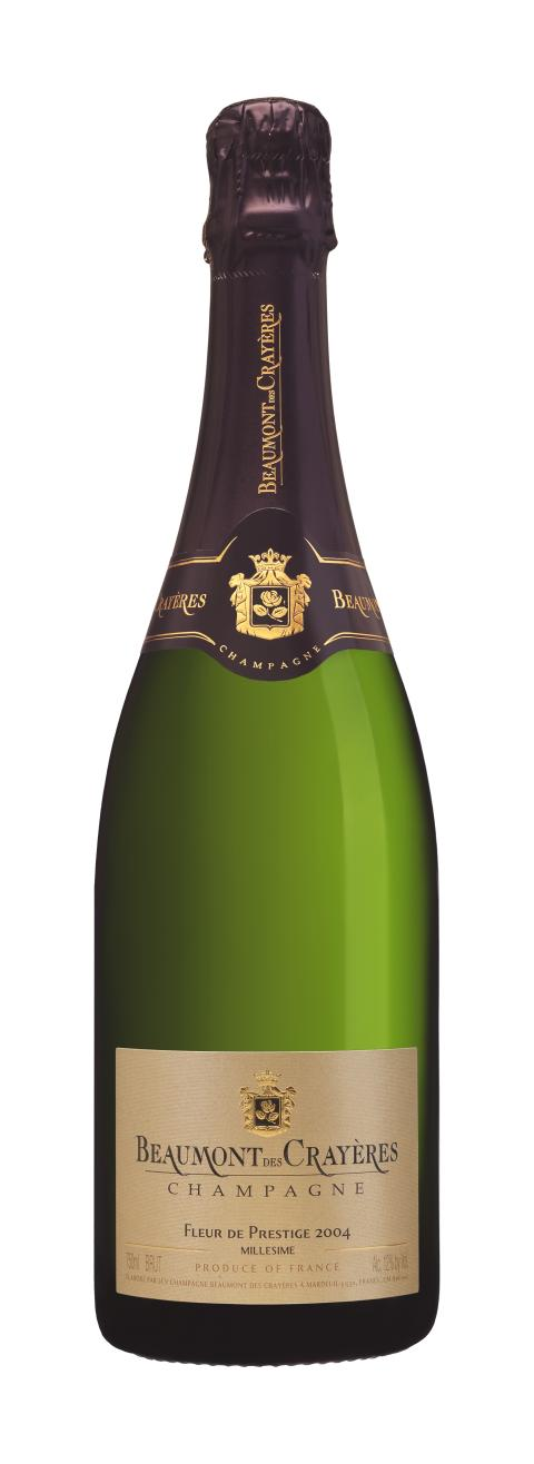 Ny prisad årgång av vintagechampagnen Beaumont des Crayères Fleur de Prestige!
