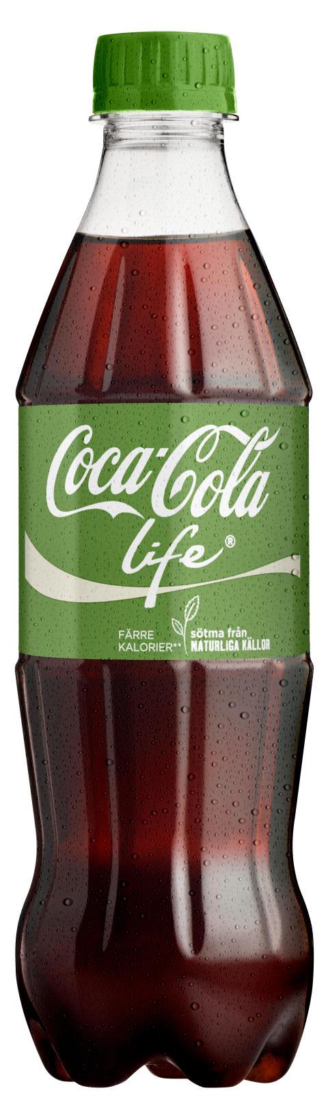 Coca-Cola life® nu i butik