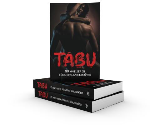 TABU, boktrave mot vit bakgrund