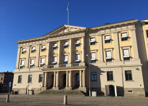 Beslut i notisform från kommunstyrelsen 23 augusti 2017