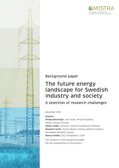 Backgroud Paper Energy Transitions 2020