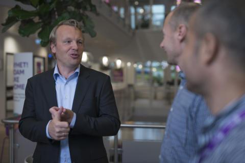Jon Christian Hillestad, leder Telia Bedrift