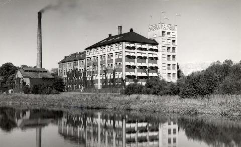 Maraboufabriken i Sundbyberg, 1929