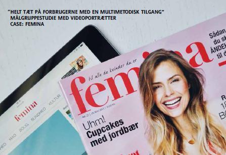 Femina kommer tættere på læserne med videoportrætter
