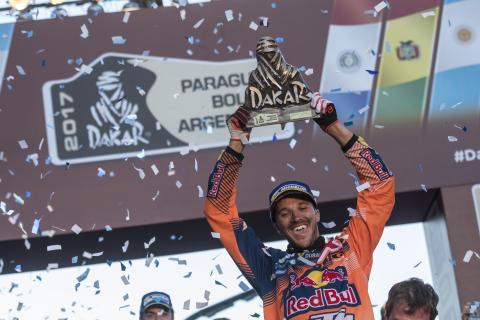 Sam Sunderland Dakar 2017