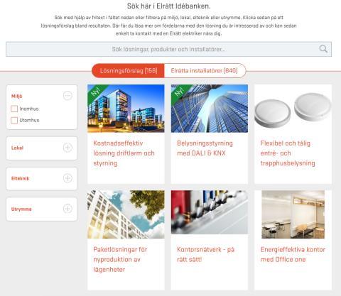 Fastighetsmässan 6-7 sep: Testa Elrätt Idébanken – det moderna sättet att hitta smarta ellösningar