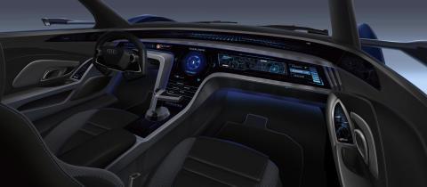 Audi RSQ e-tron (konceptbil udviklet til den animerede film Spies in Disguise)