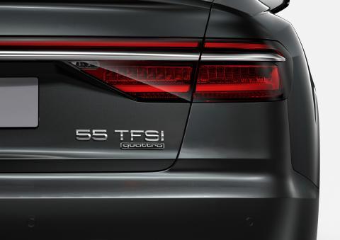 Audi A8 med ny modelbetegnelse