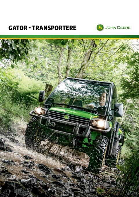 John Deere Gator - Transportere Brochure