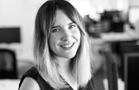 Jessica Egman, marknadschef på Jollyroom