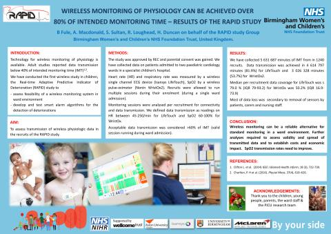 Wireless monitoring of physiology can be achieved