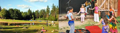 Barnens program Mundekullas Musikfestival