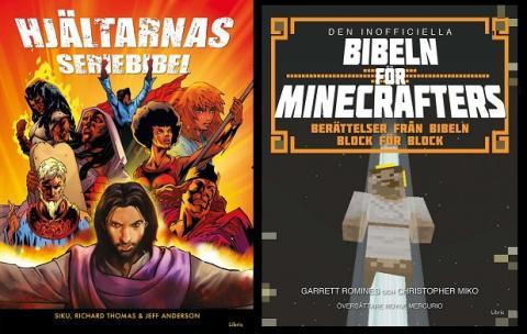 Libris ger ut två grafiska biblar